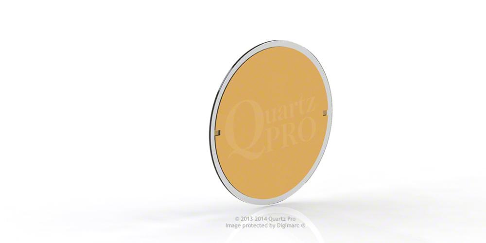 QCM 5 MHz 12.5 mm Cr/Au  Sloan, Ulvac