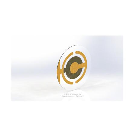 QCM 5 MHz 25.4 mm Cr/Au  Maxtek