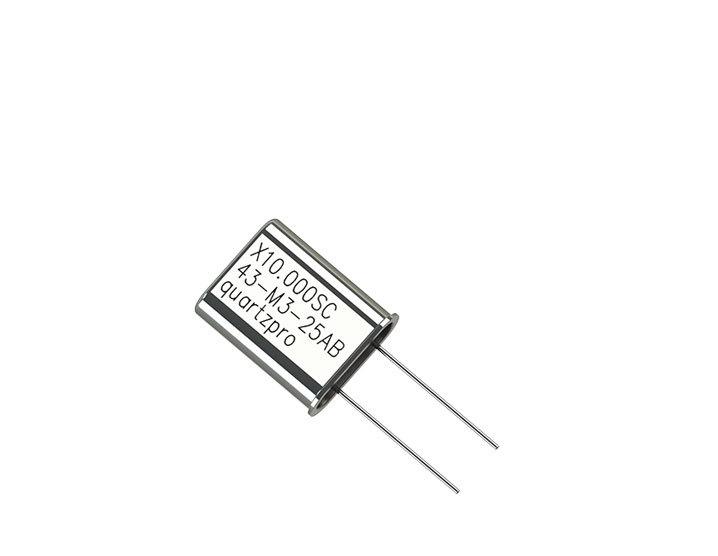 Quartz Crystal 25.000 MHz  SC HC-43/U 3rd overtone  CL 20pF