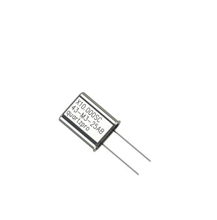 Quartz Crystal 60.000 MHz  SC HC-43/U 3rd overtone  Serie